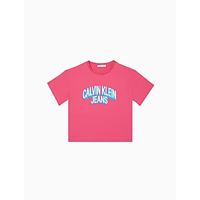 Girls Boxy Logo T-Shirt