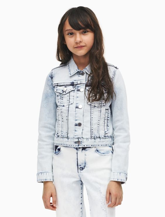 Girls Denim Jacket Calvin Klein