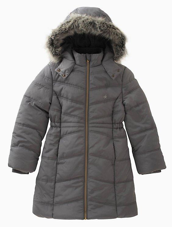 88b0837d813d81 girls aerial puffer jacket | Calvin Klein