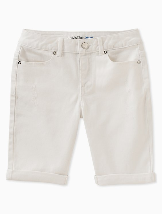 81388979de Girls Boyfriend Fit Bermuda Shorts | Calvin Klein