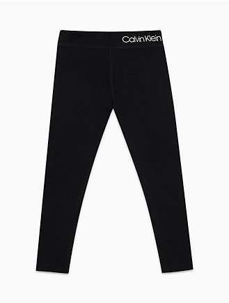 c3d8b59cff775b girls performance logo solid leggings