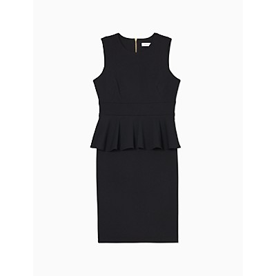 Peplum Sleeveless Sheath Dress