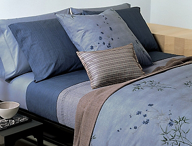 Image for bamboo flower bedding collection from Calvin Klein