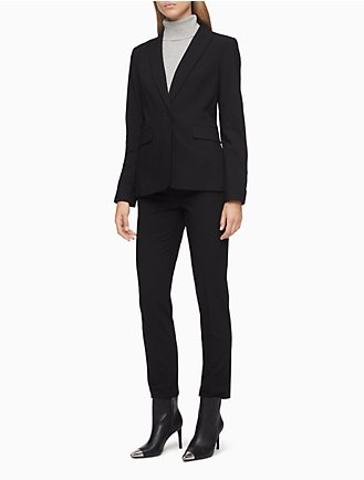 Womens Black Suit 4ouK