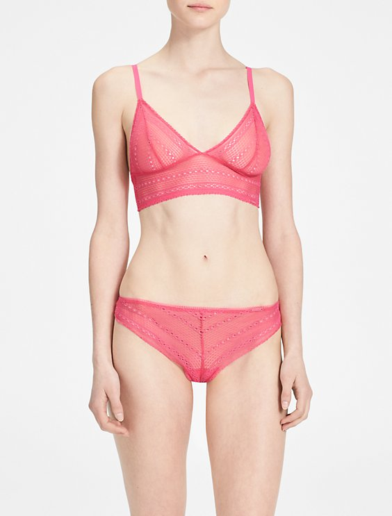 d7945fa66b6f4 Image for ombre triangle bralette + thong from Calvin Klein