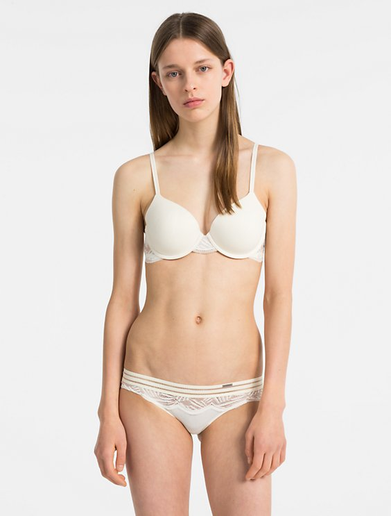6b606bbebc055 Image for perfectly fit lightly lined full coverage bra + bikini from Calvin  Klein